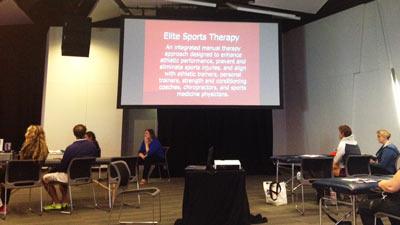 AAMT Conference 2014 Elit Sports Workshop