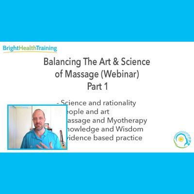 The Balance 1 - Bright Health Training CPE